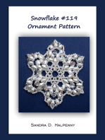 Snowflake #119 Ornament Pattern