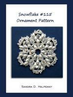 Snowflake #115 Ornament Pattern
