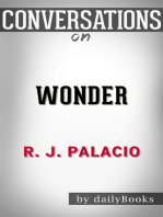 Wonder by R.J. Palacio | Conversation Starters