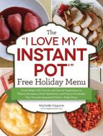 "The ""I Love My Instant Pot®"" Free Holiday Menu"