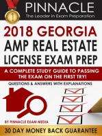 2018 GEORGIA AMP Real Estate License Exam Prep