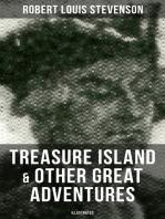 Treasure Island & Other Great Adventures (Illustrated)