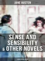 Sense and Sensibility & Other Novels - 4 Books in One Edition