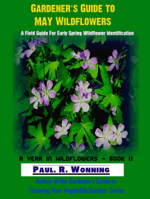 """Gardener""""s Guide to May Wildflowers: A Year in Wildflowers, #2"""