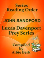 John Sanford's Lucas Davenport Prey Series