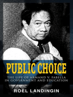 Public Choice: The Life of Armand V. Fabella in Government and Education