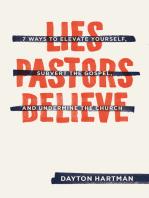 Lies Pastors Believe