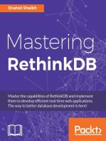 Mastering RethinkDB