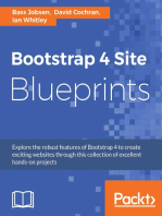 Bootstrap 4 Site Blueprints