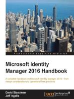 Microsoft Identity Manager 2016 Handbook