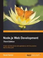 Node.js Web Development - Third Edition