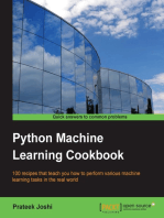 Python Machine Learning Cookbook
