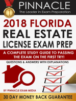 2018 FLORIDA Real Estate License Exam Prep