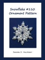 Snowflake #110 Ornament Pattern