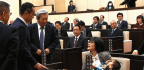Japanese Lawmaker's Baby Gets Booted From The Floor