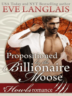 Propositioned by the Billionaire Moose
