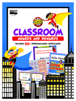 Super Power Classroom Awards and Rewards
