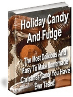 Holiday Candy and Fudge