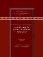 Documents on Australian Foreign Policy
