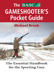 The BASC Gameshooter's Pocket Guide: The Essential Handook for the Sporting Gun