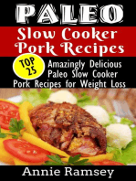 Paleo Slow Cooker Pork Recipes