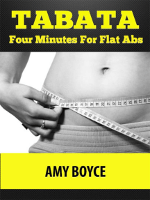 Tabata: Four Minutes For Flat Abs