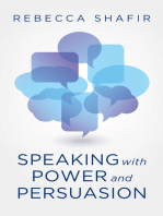 Speaking with Power and Persuasion