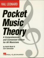 Hal Leonard Pocket Music Theory (Music Instruction)