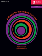A Manual for the Modern Drummer