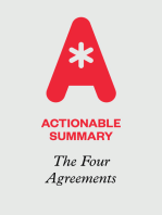 Actionable Summary of The Four Agreements by don Miguel Ruiz