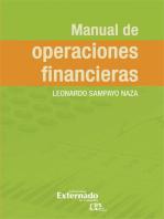 Manual de operaciones financieras
