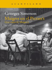 Maigret en el Picratt's: (Los casos de Maigret)