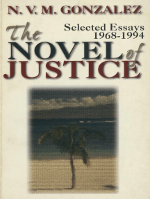 The Novel of Justice: Selected Essays (1968-1994)