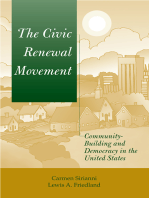 The Civic Renewal Movement