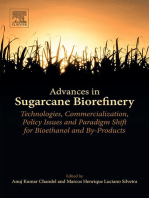 Advances in Sugarcane Biorefinery: Technologies, Commercialization, Policy Issues and Paradigm Shift for Bioethanol and By-Products