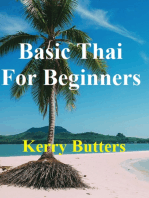 Basic Thai For Beginners.