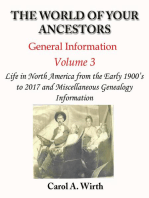 The World of Your Ancestors - General Information - Volume 3