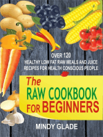 The Raw Cookbook For Beginners