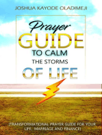 Prayer Guide To Calm The Storms Of Life