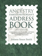 The Ancestry Family Historian's Address Book