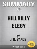 Summary of Hillbilly Elegy