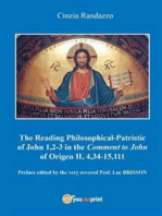 Reading philosophical-patristic of John 1,2-3 in the comment to John of Origen II, 4,34-15,111