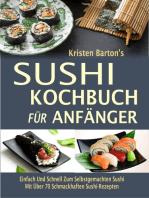 Sushi-Kochbuch für Anfänger