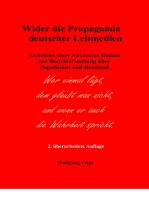 Wider die Propaganda deutscher Leitmedien