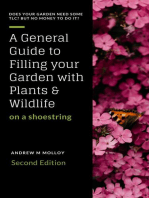 A General Guide to Filling Your Garden With Plants & Wildlife on a Shoestring