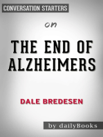 The End of Alzheimers by Dr. Dale E. Bredesen | Conversation Starters