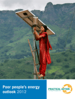 Poor People's Energy Outlook 2012