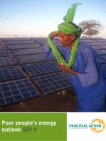 Poor People's Energy Outlook 2014
