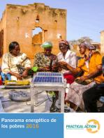 Panorama energético de los pobres 2016