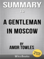 Summary of A Gentleman in Moscow